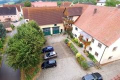 Luftbild vom Ferienhof Hausmann