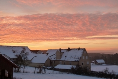 Winter-Abendsonne in Ottmannsberg