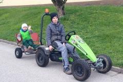 Mit dem Kettcar auf großer Fahrt