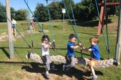 Spielspaß am Spielplatz in Ottmannsberg