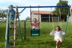 Kinder-Spielplatz am Haus